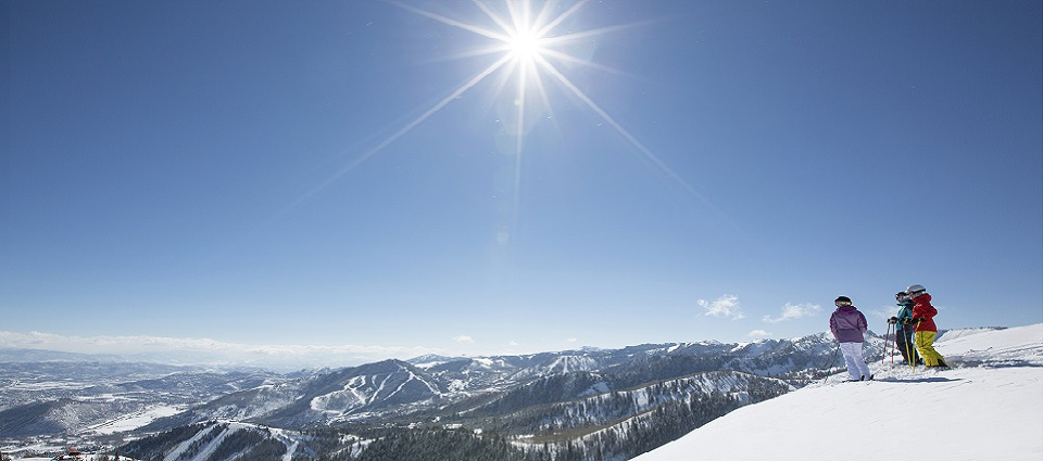 Skiing holidays in Park City Utah USA go to the snow